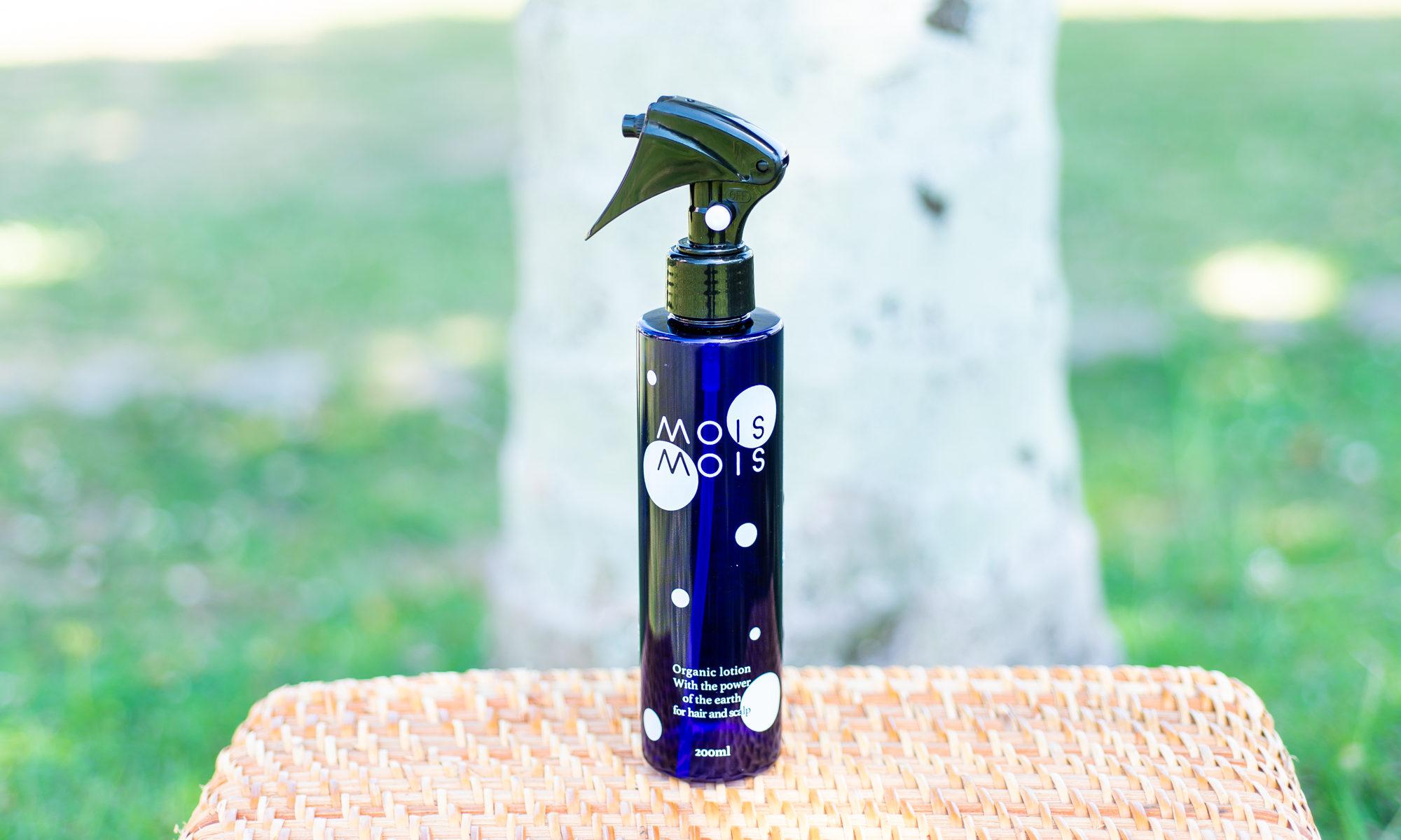 全身に使える頭皮と髪用のフルボ酸基礎化粧水|モイスモイス